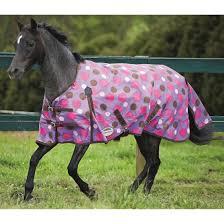 weatherbeeta original 600d pony standard lite turnout rug purple pink polka dot