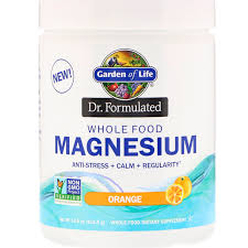 garden of life dr formulated whole food magnesium powder orange 14 8 oz 419 5 g