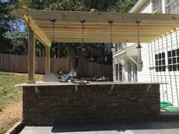 outdoor kitchen image number 6 of shed roof kitchen