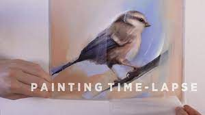 OIL PAINTING TIME-LAPSE || Bird - YouTube