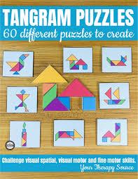 Tangram Designs Printable Tangram Printable Puzzles