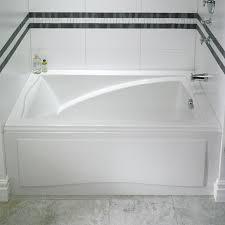 skirted tubs alcove tub bathtub with skirt for 3 wall alcove