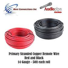 electrical wiring w x y electrical image wiring amazon com 14 gauge wire red black power ground 50 ft each on electrical wiring w x y