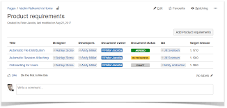 Confluence Timeline Chart Running Project Planning In Atlassian Confluence Stiltsoft