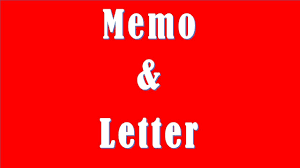 Difference Between Memo And Letter Memo Vs Letter Youtube