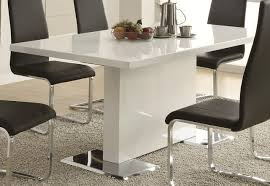 amazing of modern white dining table contemporary modern white dining table i96