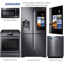Kitchen Appliance Packages Canada Acrylic Kitchen Appliances Packages Levers Silver Plan Samsung