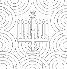 Hanukkah Coloring Pages Coloringrocks