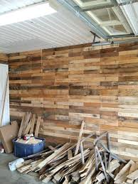 metal garage interior wall ideas transformed into super pallet garage wall finishing ideas