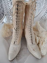 143 best trundle bed ware antiques for sale images on pinterest Victorian Wedding Boots For Sale antique victorian champagne brocade ivory cream leather lace up wedding boots Victorian Ladies Boots