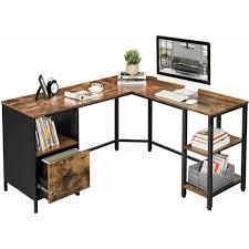 vasagle corner desk l shaped computer