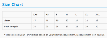 Singapore Size Chart Male Race Singlet Size Chart The Performance Series