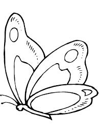Butterfly Colouring Template Medcomfortnearmeclub
