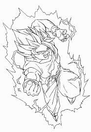 Coloriage Dragon Ball Z Trunk Petit Super Sayen Fantastique Concept