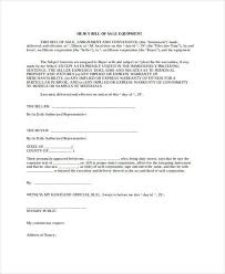 Free 36 Bill Of Sale Forms In Word Doc