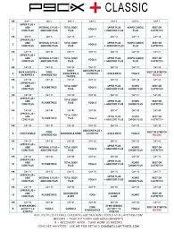 P90x Schedule Excel Workout Schedule Excel Sample Workout Calendar 9