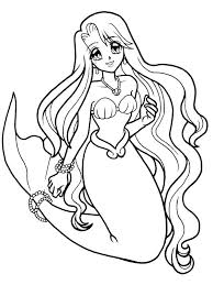 Small Picture Epic Mermaid Coloring Pages 82 With Additional Coloring Books with