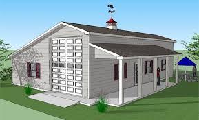 sonata rv port home with garage and porch