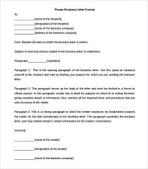 3 Business Letter Formats Sample Format For Writing A Courtnews Info