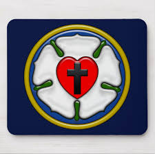 luther rose mousepad