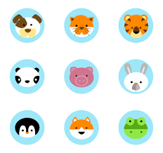 Animal Icon Cute Animal Collection 16 Free Icons Svg Eps Psd Png Files