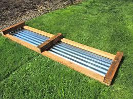 corrugated metal raised garden beds diy raised garden bed
