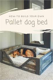 diy dog house bed diy pdf tutorial pallet dog bed 1001 pallets free