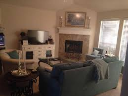 den furniture arrangement. Furniture Arrangement Corner Fireplace. The Images Collection Of Room With Fireplace H Den L