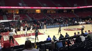 Cincinnati Bearcats Basketball Seating Chart Liacouras Center Section 115 Row J Seat 2 Temple Owls