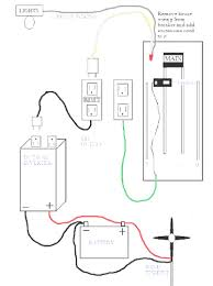 Houseiring using inverter unbelievable diagram of basic circuit system for alarm home security simple