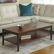 gorgeous parsons coffee table of with shelf