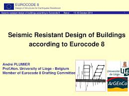 Design Resistance Ppt Seismic Resistant Design Of Buildings According To