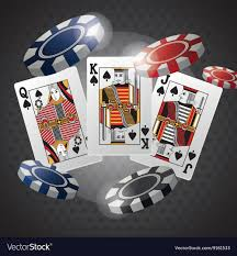 Poker Design Poker Design Cards And Chips Concept Casino