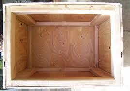 firewood box plan