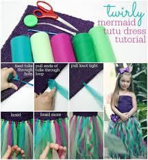 10 diy no sew tutu skirt ideas diy no sew mermaid tutu skirt tutorial