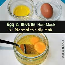 and egg hair mask for oily hair
