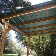 pve plus 26 x 8 green foamed pvc corrugated patio panel