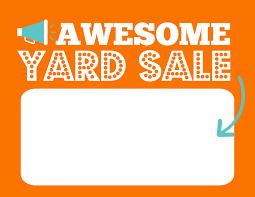5 Diy Printable Fun Garage Yard Sale Signs