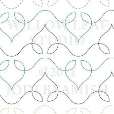 Continuous Line Quilting Patterns Free