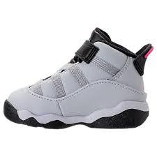 basketball shoes for girls nike black and white. nike girls\u0027 toddler jordan 6 rings basketball shoes pure platinum/hyper pink/black for girls nike black and white e