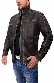 vintage biker leather jacket for mens on s jacket