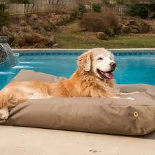 snoozer outdoor dog beds waterproof dog beds water resistant dog beds