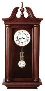 manchester wall clock by bulova