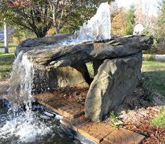 fake rocks for landscaping pool