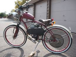 picture of motorized bicycle diy the hard way