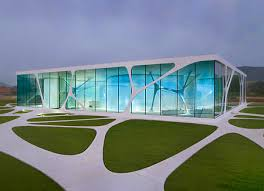 ultra modern architecture. Ultra Modern Organic Glass Architecture 0