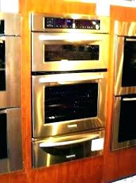 wall oven kitchenaid wall oven combo electric reviews microwave with kitchen fascinating kitchenaid 27 inch double