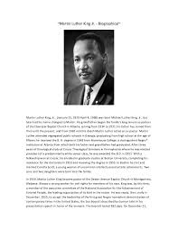 martin luther king essay example martin luther king jr biography martin luther king jr biography essay sample image 5 martin
