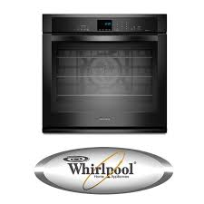 whirlpool wos92ec7ab 27 single electric wall oven with 4 3 cu ft timesavor ultra true convection oven