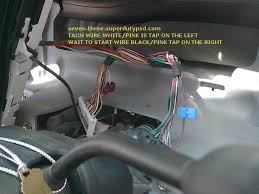 ford super duty remote start installation com tach wire and wait to start wire location